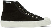 Ymc Black Novesta Edition High Top Sneakers
