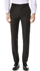 Freemans Sporting Club American Milled Super 110S Suit Trousers Black