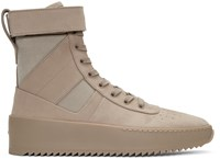 Fear Of God Beige Military High Top Sneakers