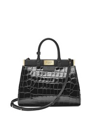 Aspinal Of London The Dockery Snap Bag Small Black