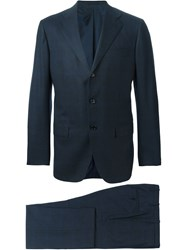 Kiton Two Piece Suit Grey