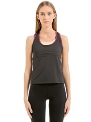 Emporio Armani Ventus Tank With Built In Bra