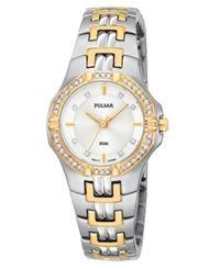 Pulsar Watch Women's Stainless Steel Bracelet Ptc388 Women's Shoes