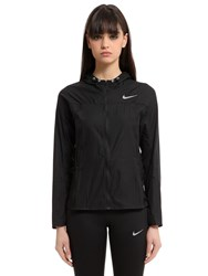 Nike Dri Fit Nylon Running Jacket