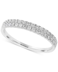 Effy Pave Classica By Diamond Band 1 3 Ct. T.W. In 14K White Gold