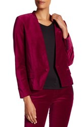 Zadig And Voltaire Vegas Velours Jacket Red