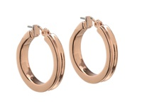 Guess Small Wide Hoop Earring Rose Gold Earring