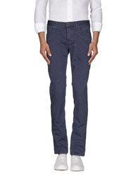 Jeckerson Trousers Casual Trousers Men Slate Blue