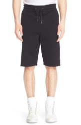 Men's Helmut Lang Logo Sweat Shorts Black