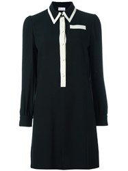 Red Valentino Shirt Dress Black