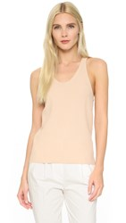 Acne Studios Iso Ribbed Tank Nougat Beige