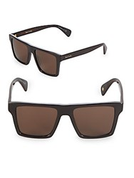 Paul Smith Blakeston 51Mm Square Sunglasses Black
