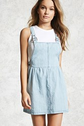 Forever 21 Denim Overall Dress Medium Denim