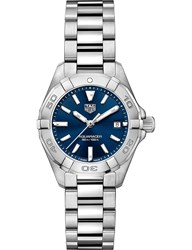 Tag Heuer Wbd1412.Ba0741 Aquaracer Steel And Sapphire Crystal Watch
