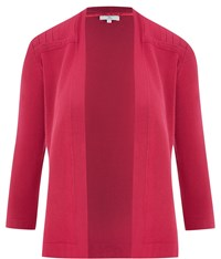 Cc Petite Edge To Edge Pleat Cardigan Berry