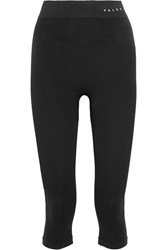 Falke Ergonomic Sport System Cropped Stretch Jersey Leggings Black