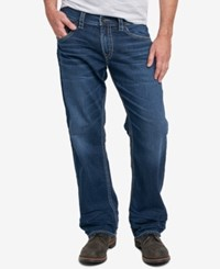 Silver Jeans Co. Men's Gordie Loose Fit Straight Dark Blue