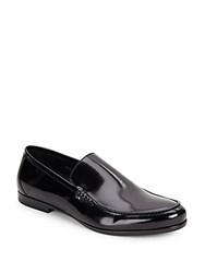Harry's Of London Alec Gloss Calf Loafers Black