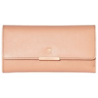 Modalu Margot Leather Dropdown Purse Dusky Pink