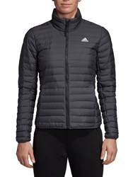 Adidas Varilite Down Long Sleeve Puffer 'S Jacket Carbon