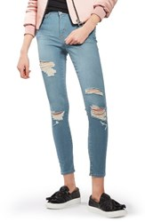 Topshop Women's Leigh Super Ripped Skinny Jeans