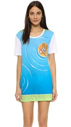 Moschino Bear Cover Up White