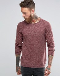Nudie Jeans Vladimir Jumper Burnt Red