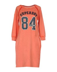 Superdry Dresses Short Dresses Coral