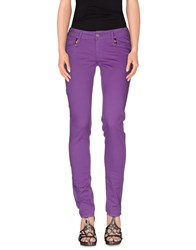 Met In Jeans Denim Denim Trousers Women Mauve