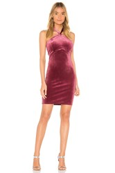 Wyldr Isabelle Twist Front Mini Dress Red