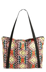 Junior Women's Volcom 'Poolside Party' Tote Coral Electric Coral