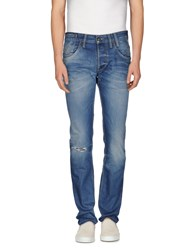 Pepe Jeans Denim Denim Trousers Men Blue