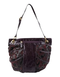Capoverso Large Fabric Bags Dark Brown