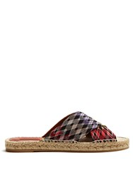 Missoni Mare Zigzag Knitted Slides Black Multi