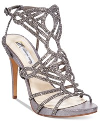Inc International Concepts Women's Surrie Evening Sandals Only At Macy's Women's Shoes Pewter