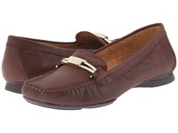 Naturalizer Saturday Bridal Brown Leather Women's Shoes