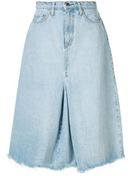 Nobody Denim Charter Skirt Blue