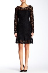Hale Bob Lace Dress Black