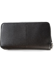 Z Zegna Zipped Clutch