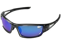 Tifosi Optics Dolomite 2.0 Polarized Crystal Smoke Athletic Performance Sport Sunglasses Black