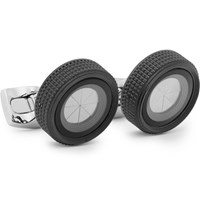 Deakin And Francis Camera Lens Silver Tone Cufflinks Silver