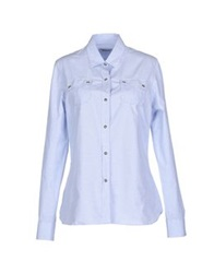 Barbour Shirts Sky Blue