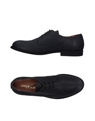 Officina 36 Footwear Lace Up Shoes Black