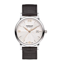 Montblanc Star Classique Date Automatic Watch Silver