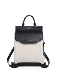 Rag And Bone Pilot Ii Colorblock Leather Backpack Natural
