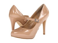 Rsvp Spencer Mary Jane Nude Patent Women's Maryjane Shoes Beige
