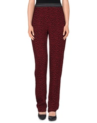 Suoli Casual Pants Maroon