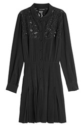 The Kooples Embroidered Shirt Dress