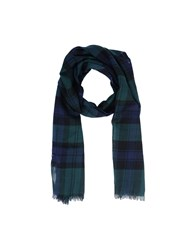 Brooks Brothers Black Fleece By Oblong Scarves Dark Green