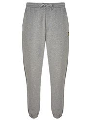 Lyle And Scott Jersey Sweat Pants Mid Grey Marl